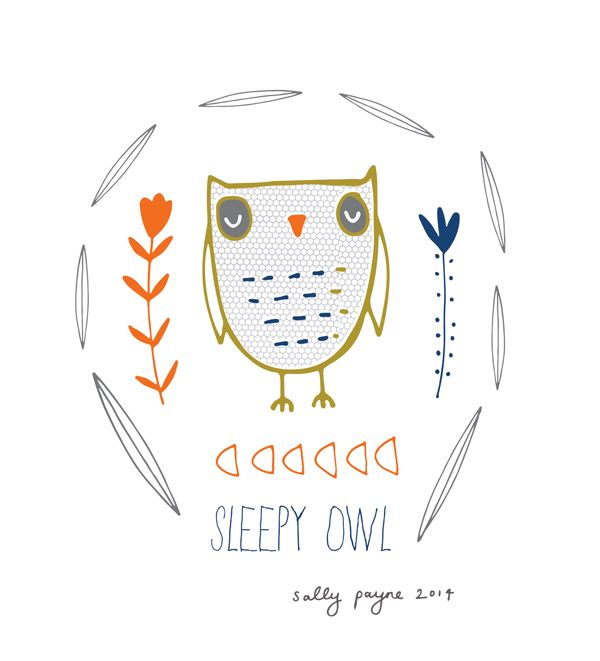 Illustration sleepyowl-sallypayne
