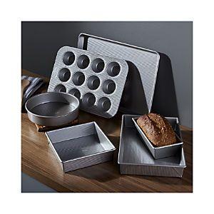 usa pan pro line 6piece bakeware set - Bakeware Sets