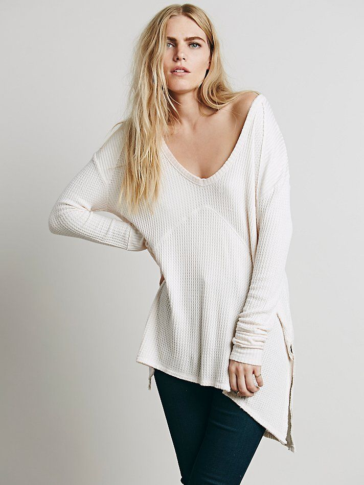 We The Free Sunset Park Thermal at Free People Clothing Boutique