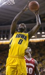 Going through Hawkeye basketball withdrawals? Take a look at this article and get excited because Gabriel Olaseni is back next season and better than ever. #Hawkeyes #Basketball #NCAA #Iowa