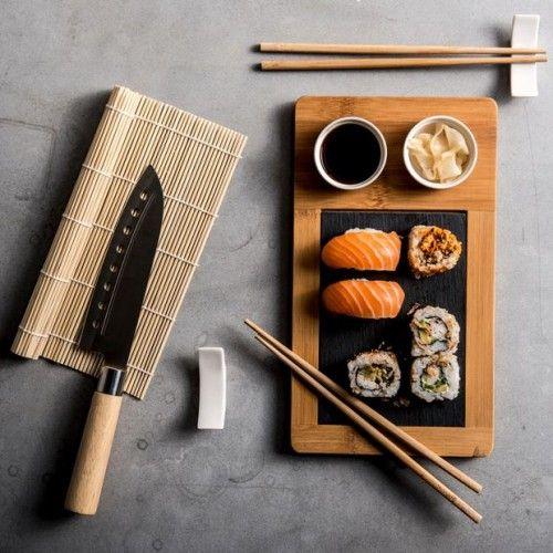 SAMOURAI Set à sushi - Produits feelgood pour la maison et le jardin chez CASA | casashops.com