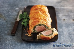 Looking to impress dinner party guests  this holiday season? Wow your guests with this Tender Tip® Ham Wellington