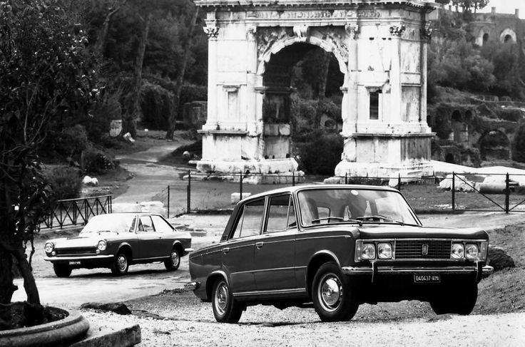 Fiat 125 et 124 Sport Coupé - 1967