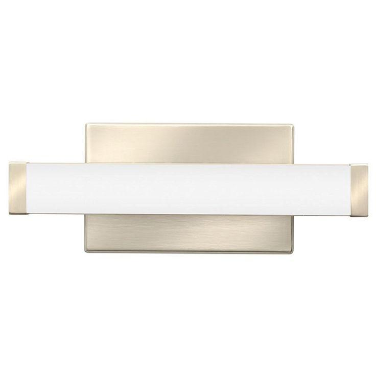 Lithonia Lighting Brushed-nickel Steel/ LED Contemporary Vanity Light