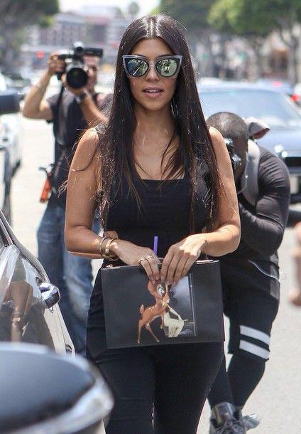 images of Kardashians with sunglasses | Sunglasses: kourtney kardashian, kim kardashian, kardashians, khloe ...