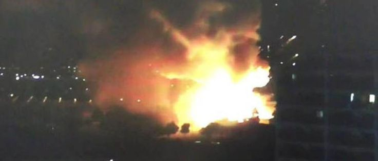 InfoNavWeb                       Informação, Notícias,Videos, Diversão, Games e Tecnologia.  : Explosão em subestação de energia no Japão