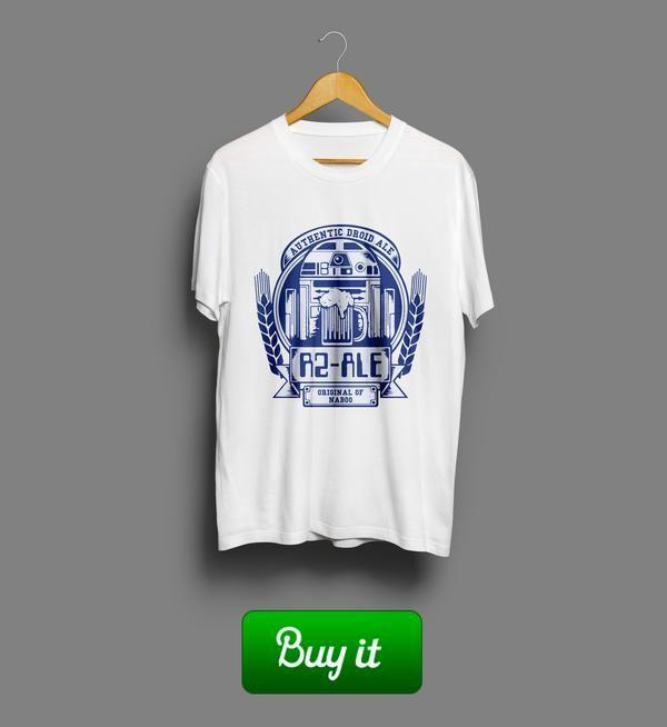 R2-Ale | Идешь гулять - надевай эту футболку. Она повысит джружелюбность, принесет приятные знакомства и даст пару очков Силы света.  #Звёздные #войны #Star #Wars #Эпизод #IV #Episode #Jedi #Джедай #Джедаи #academy #Ale #R2D2