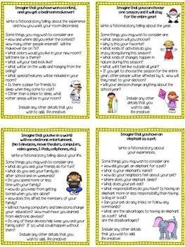 Common core writing prompts 7th grade