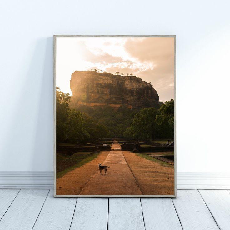 Impression de paysage – Impression de Sri Lanka – Impression de photo de voyage – Sigiriya – Lions Rock – Ohcapi