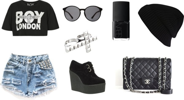 """street style"" by raquelgrey on Polyvore"