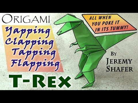 Yapping Clapping Tapping Flapping T-rex - YouTube