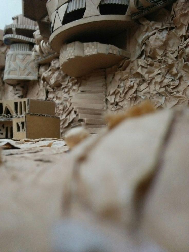 FAVORITE - BUNKER #tomorrowland #tekomars #architecture #collaboration #cardboard