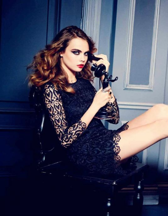 Cara Delevingne By Ellen Von Unwerth For Cencosud Paris Spring Summer 2015.