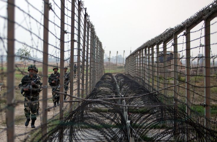 India - Pakistan border, Kashmir