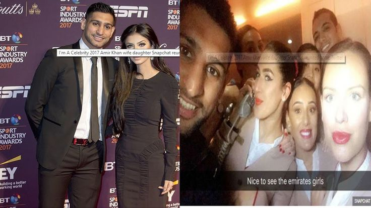 celebrity news : Amir Khan FINALLY reunited with pregnant wife after ste...