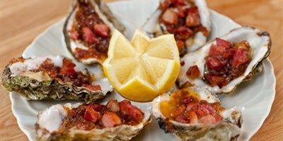 Try this Oysters Kilpatrick recipe by Chef LifeStyle FOOD. This recipe is from the show Hairy Bikers Best of Britain.