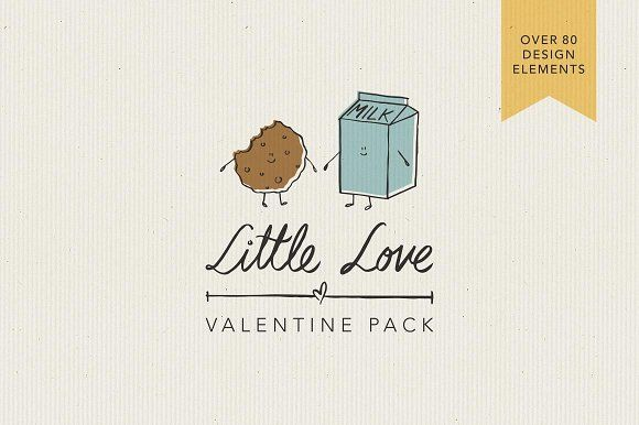 Little Love Valentine Pack by Storyteller Imagery on @creativemarket