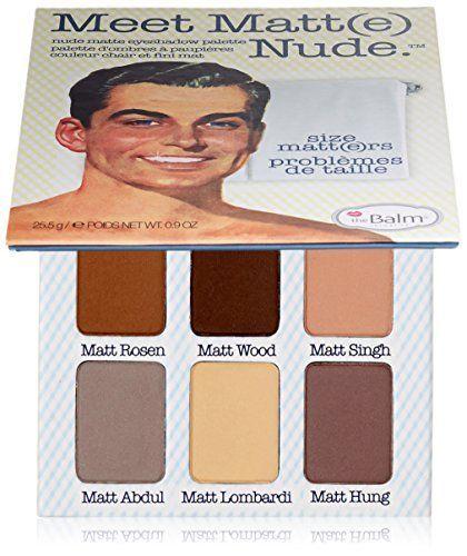 """theBalm Lidschatten-Palette Meet Matte Nude """"Size Matters"""" - http://autowerkzeugekaufen.de/thebalm/thebalm-lidschatten-palette-meet-matte-nude-size"""