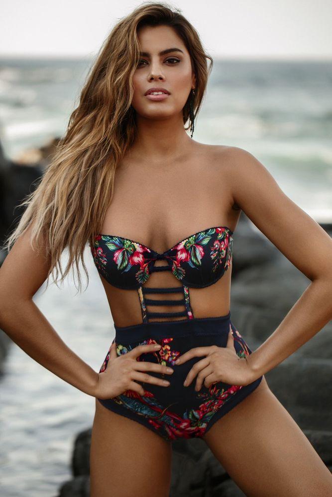 NEW Agua Bendita Swimwear Bendito Birds One-piece Bathing Suit Colombia #AguaBendita #OnePiece