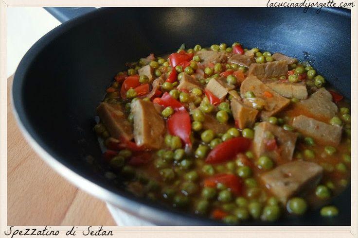 la cucina di Jorgette: Spezzatino di Seitan