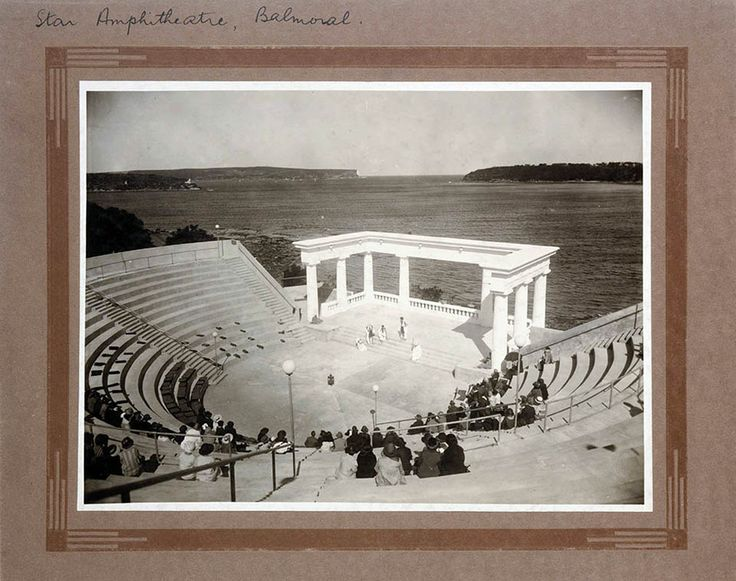 The Star of the Sea Amphitheatre at Balmoral, Sydney was built with private funds to provide a venue for the teachings of J. Krishnamurti, who some saw as a future World Teacher. As far as is known he gave only one lecture in the amphitheatre.