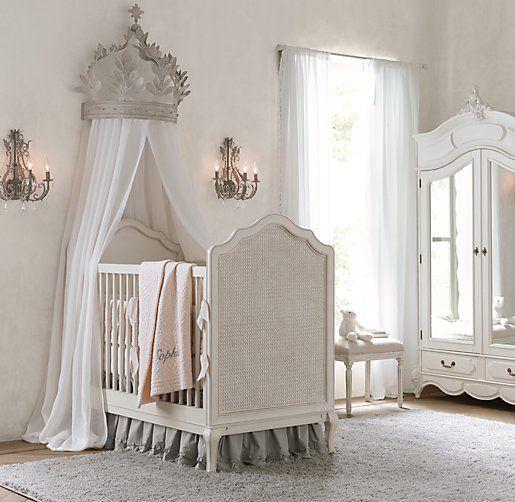 RH baby | Baby | Pinterest | Metal canopy bed, Metal canopy and Bed crown - RH Baby Baby Pinterest Metal Canopy Bed, Metal Canopy And