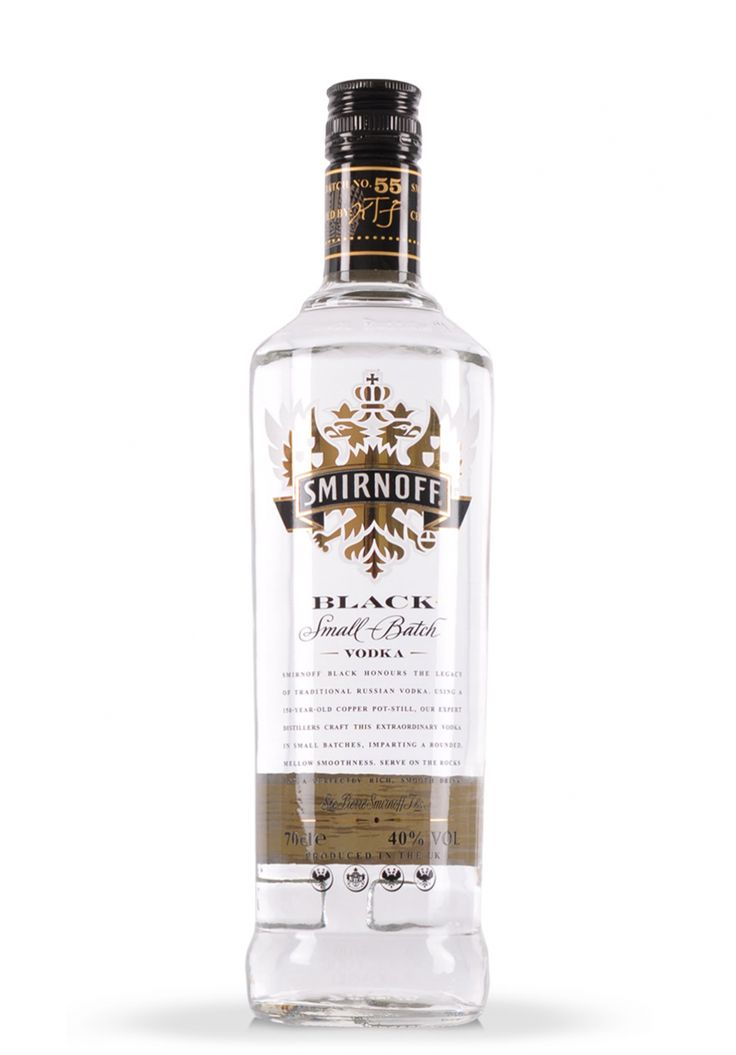 Vodka Smirnoff Black (0.7L) - SmartDrinks.ro