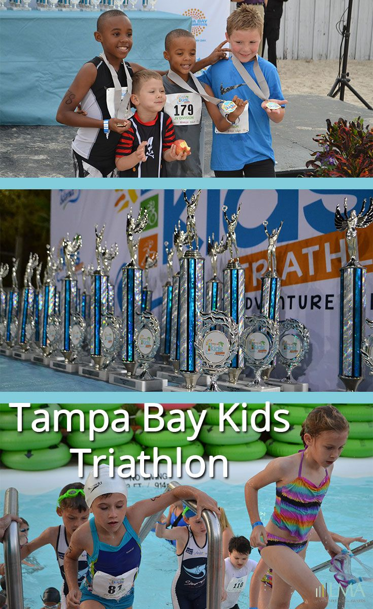 4th Annual Tampa Bay Kids Triathlon! These kids are so inspiring and determined. :)
