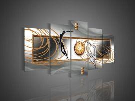 nr 305 Grijs Abstract Art