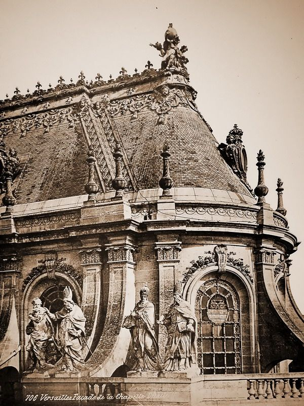 The chapel of the palace of Versailles.
