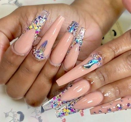 78 super cute acrylic coffin nail ideas for summer 2019 in