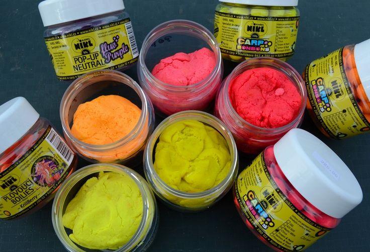 Kolorowe pasty karpiowe firmy Karel Nikl w ofercie www.carp-world.pl to nowośc na 2014 rok!