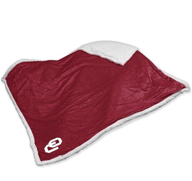 College Logo Stuff - Oklahoma Sooners Embroidered Sherpa Throw Blanket, $52.95 (https://collegelogostuff.com/oklahoma-sooners-embroidered-sherpa-throw-blanket/)