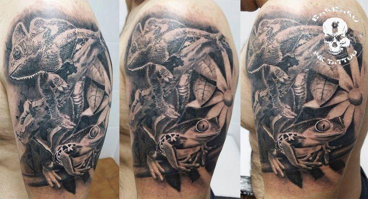 #tattoo #tattooist #tattooed #bestspaintattooartist #blackandgreytattoo #faunatattoo