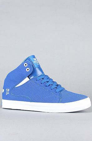 - 20% with rep code flavour when checking out! karmaloop.com  #buy #design #fashion #shoesFashion Shoes, Karmaloop Com, Rep Codes, Mid Sneakers, Blue Perforated, Design Fashion, Action Leather, Royal Blue, Buy Design