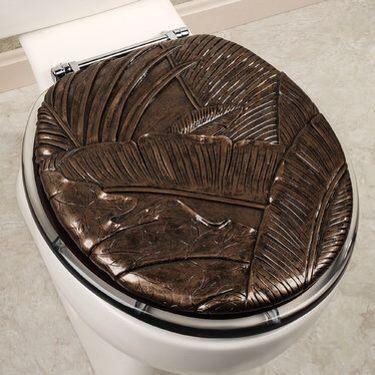 dark brown toilet seat. Tropical Foliage Decorative Toilet Seat Best 25  toilet seats ideas on Pinterest Pebble