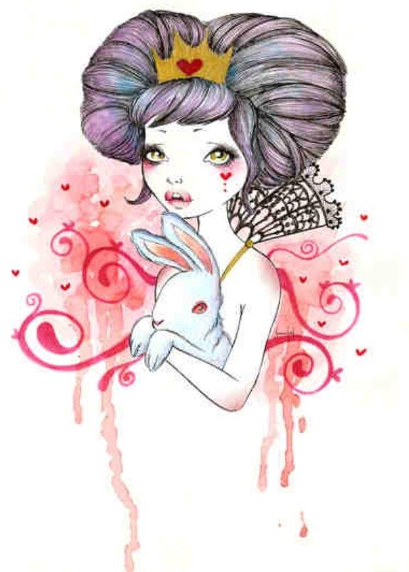 Princess with Bunny - Sabrina Eras