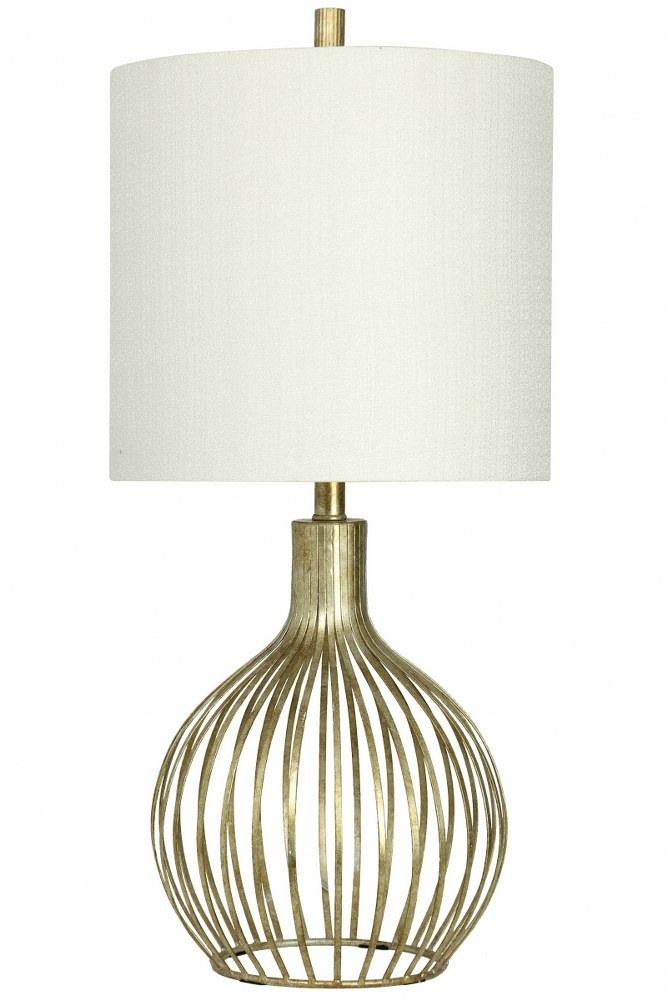 31 Inch One Light Table Lampvintage Gold Finish With White Fabric Shade In 2021 Lamp Table Lamp Fabric Shades
