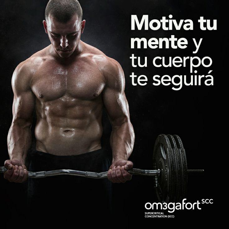 Motiva tu mente... y tu cuerpo te seguirá  #motivacion #frases #deporte