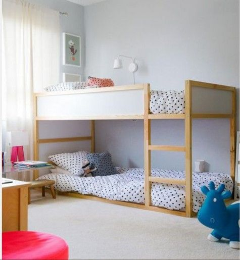 Best 25 Ikea Bunk Bed Hack Ideas On Pinterest Kura And