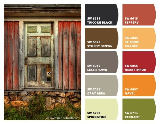 Historic Farm Color Palette Inspiration Chip It By
