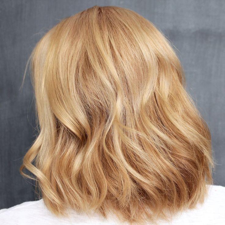 Forever Mood 😍Hair Colour in Boss Blonde.