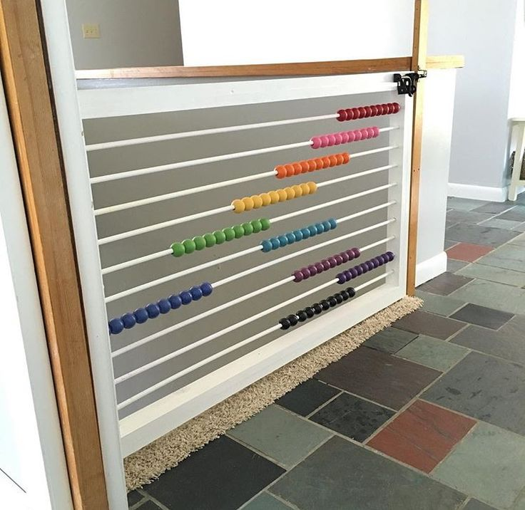 I want this abacus child gate!!!