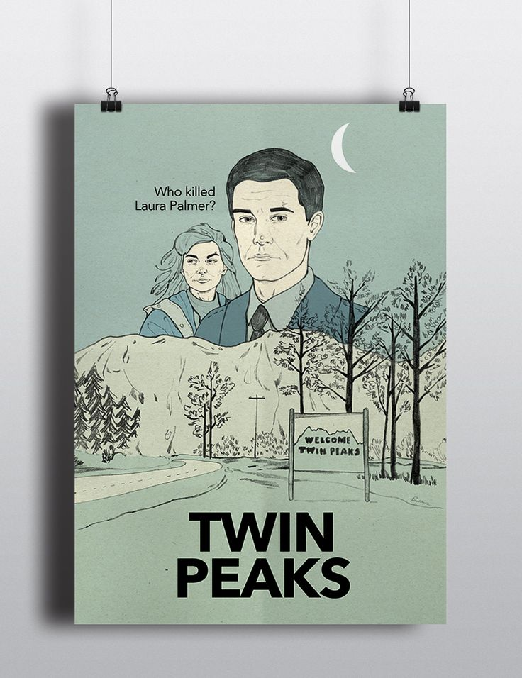 'Twin Peaks' by Magdalena Pankiewicz on wall-being