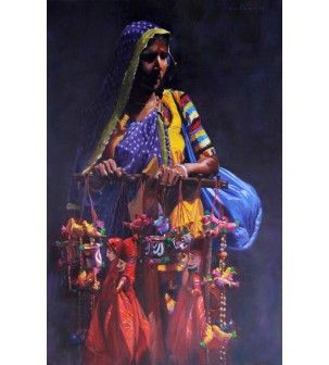Katputli Women Painting