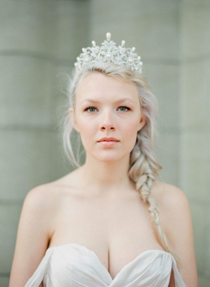 Full Bridal Crown with Pearls- ALEXANDRA Swarovski Crystal Wedding Crown, Crystal Wedding Tiara, Diamante Tiara, Bridal Tiara by EdenLuxeBridal on Etsy https://www.etsy.com/listing/225892821/full-bridal-crown-with-pearls-alexandra