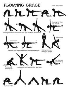 vinyasa yoga sequence  pesquisa google  yoga workout