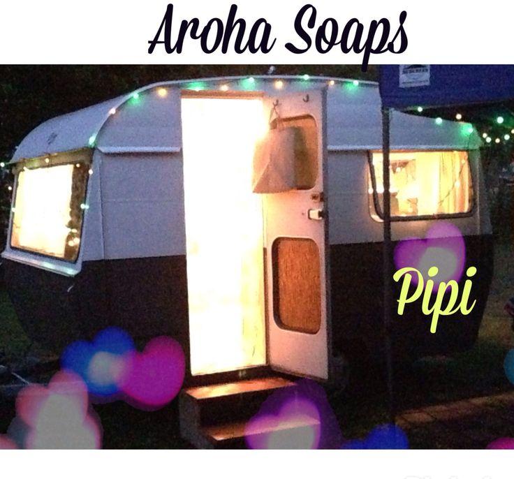 "Aroha Soaps  ""Pipi""  mobile Shop project"