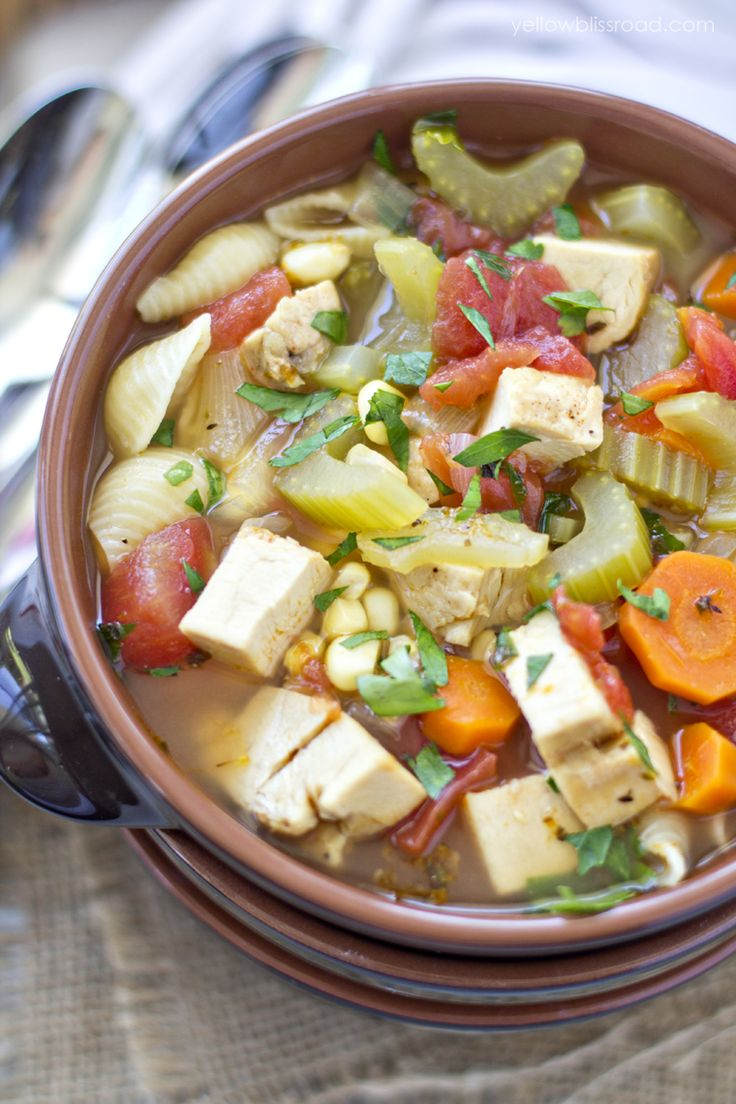 Hearty Chicken And Vegetable Soup In The Slow Cooker Recipe-7537