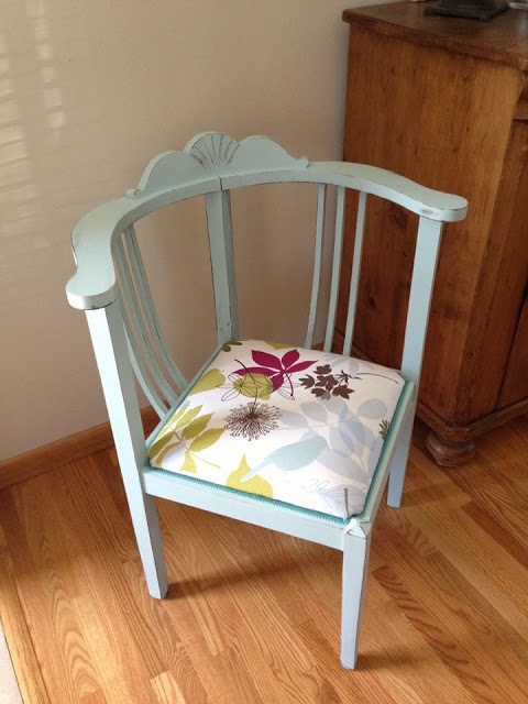 corner chair makeover with homemade chalkpaint - 88 Best Corner Chairs Images On Pinterest Chairs, 18th Century